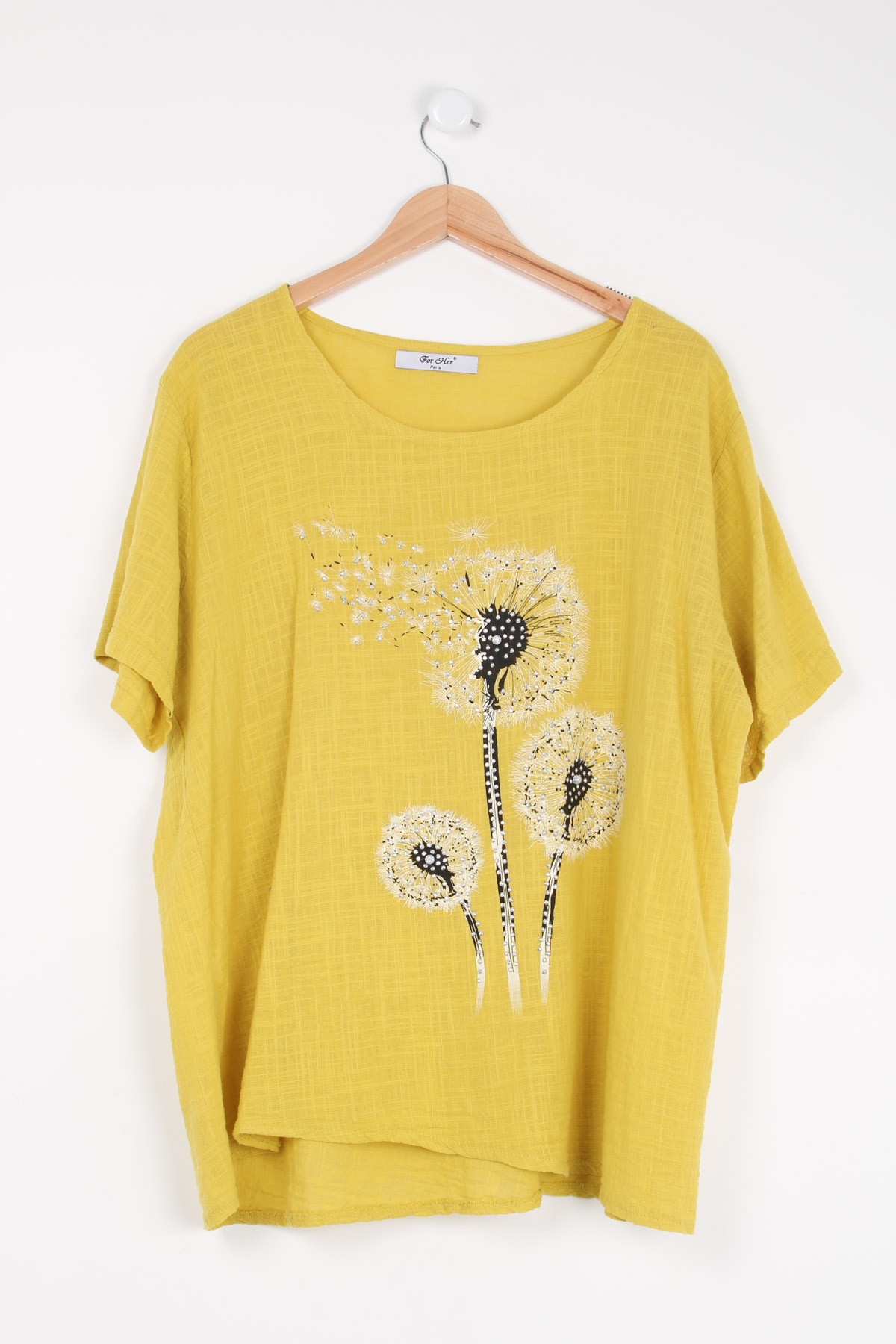 Chemises Femme Jaune For Her Paris (SHINIE) 9289 #c eFashion Paris
