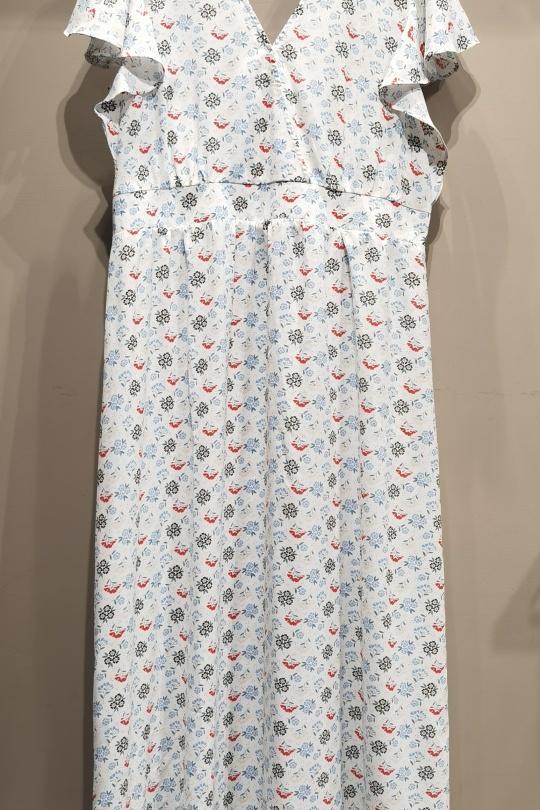 Robes longues Femme Blanc S by Suzie C3090R eFashion Paris