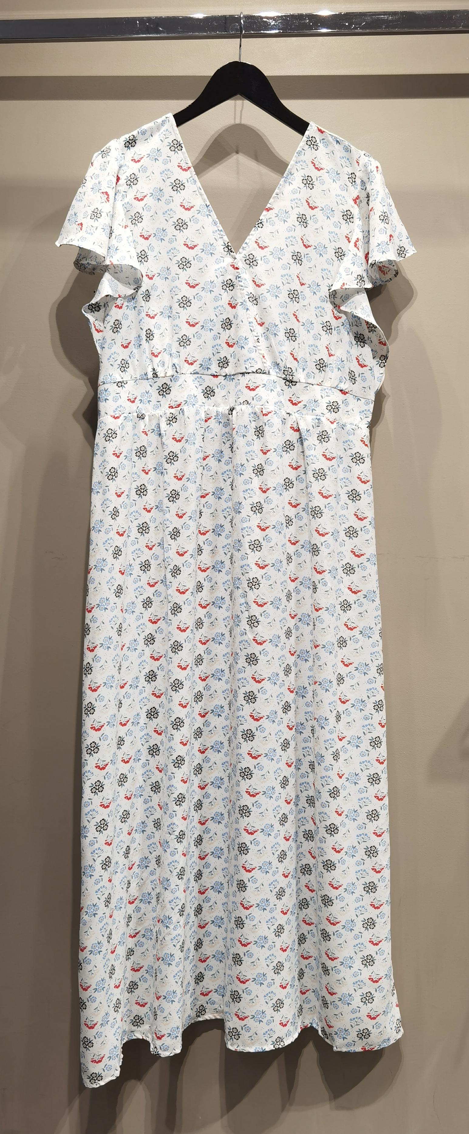 Robes longues Femme Blanc S by Suzie C3090R #c eFashion Paris