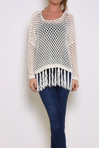 Tops Femme Blanc LUZABELLE 3344-W Efashion Paris