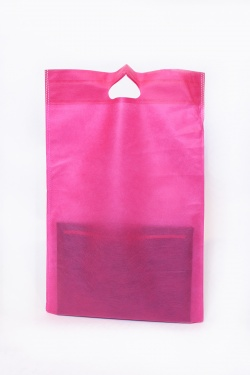 SAC RECTANGLE 25X30-ROSE