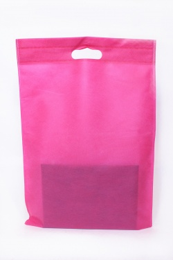 SAC RECTANGLE 51X35-ROSE