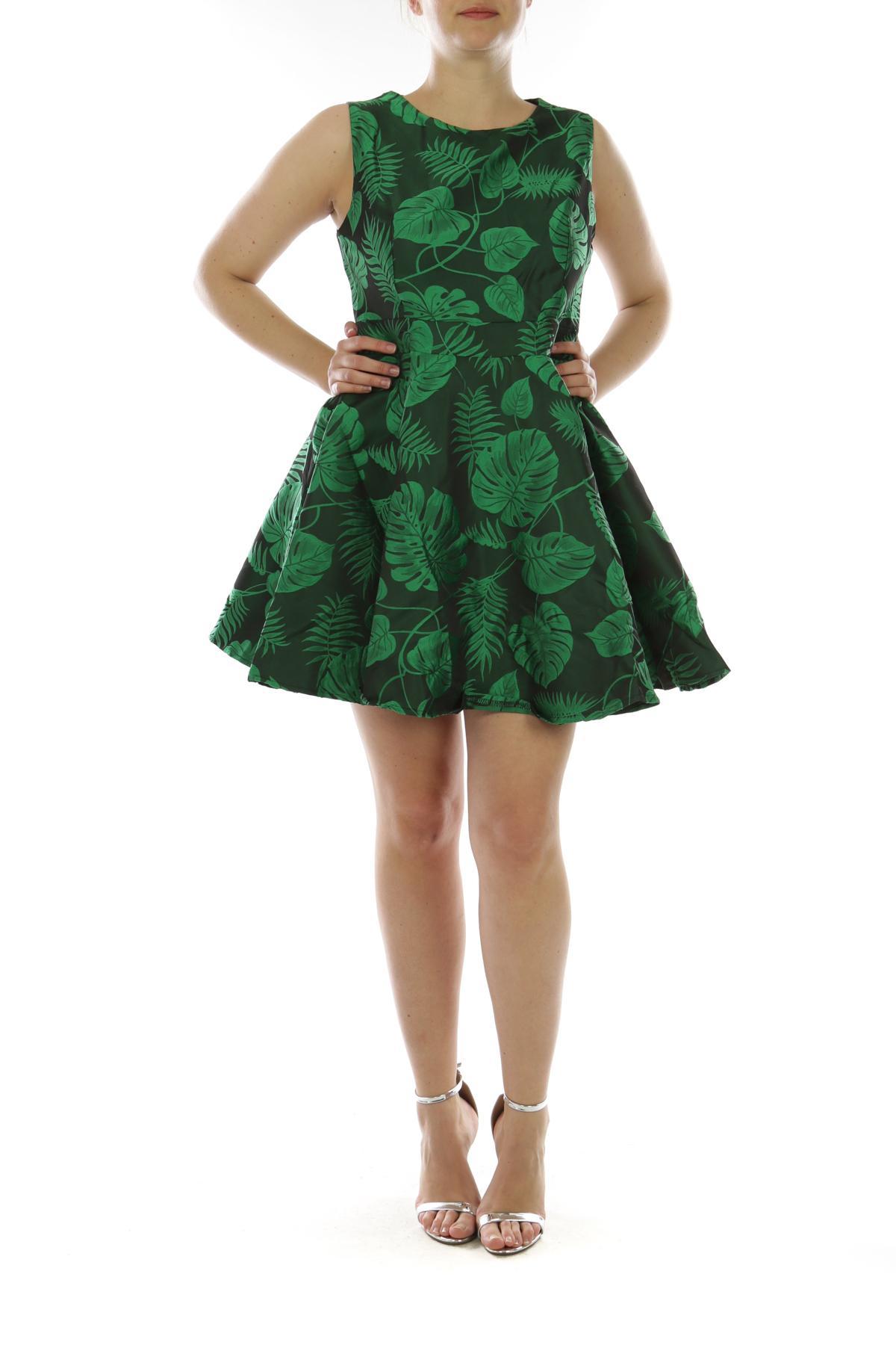 Robes Femme Vert GO POMELO 18022 #c eFashion Paris