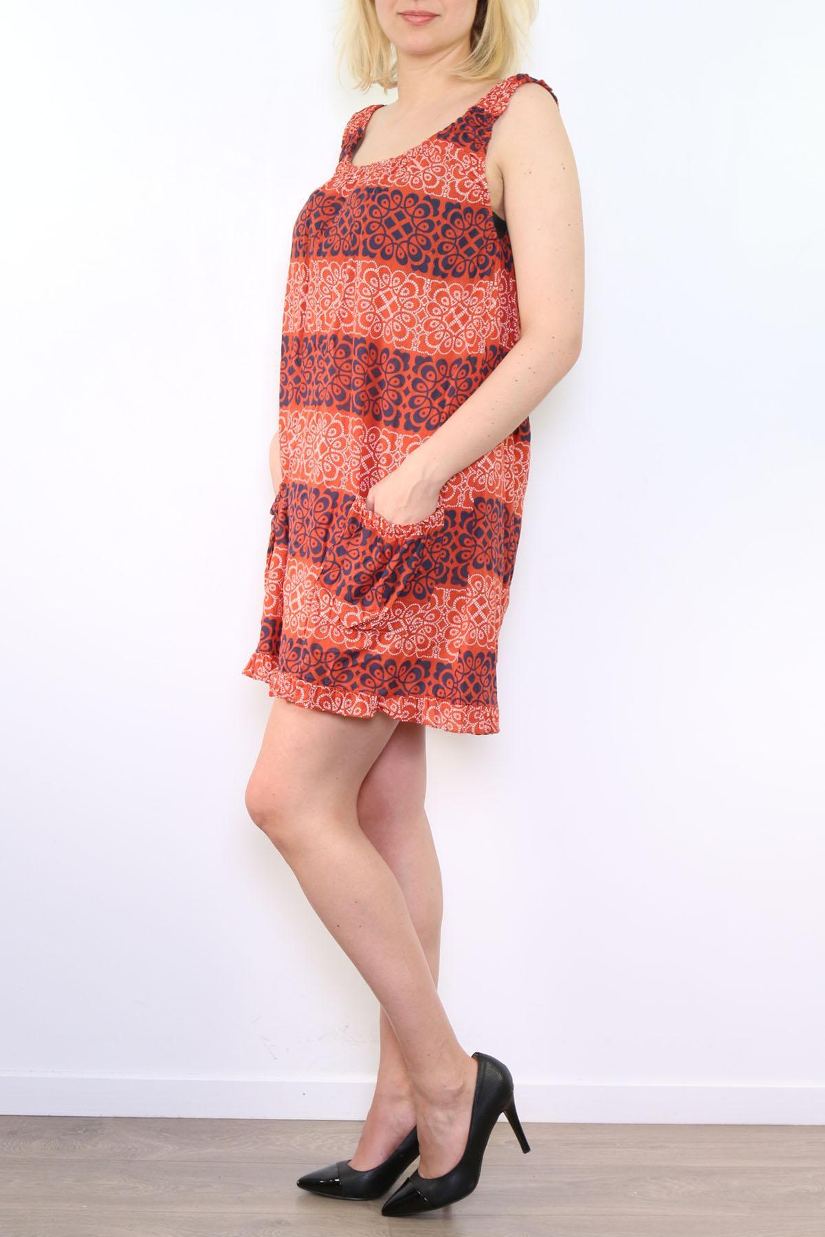 Robes Femme RP11-ORANGE GO POMELO
