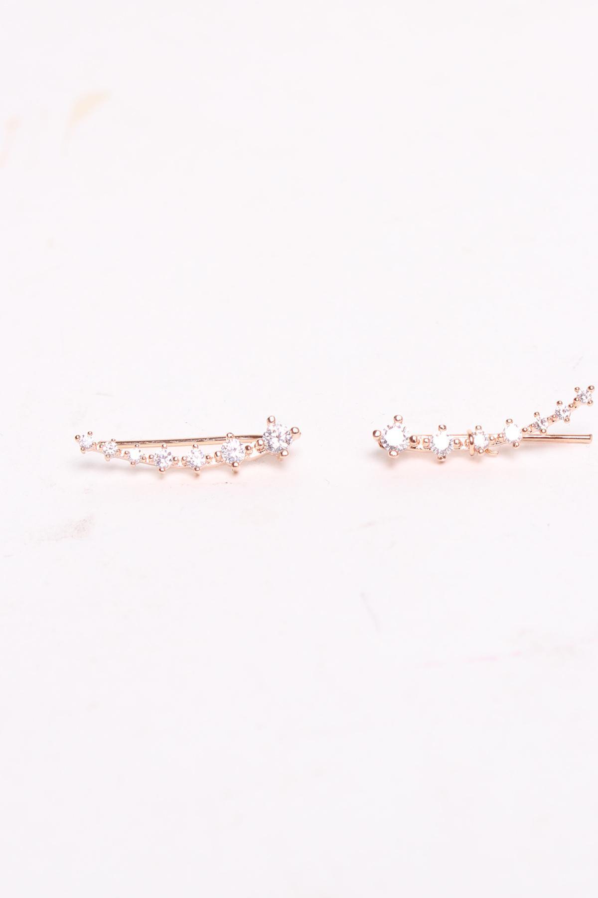 Boucles d'oreilles Accessoires rose dorée Rouge Bonbons JY011 #c eFashion Paris