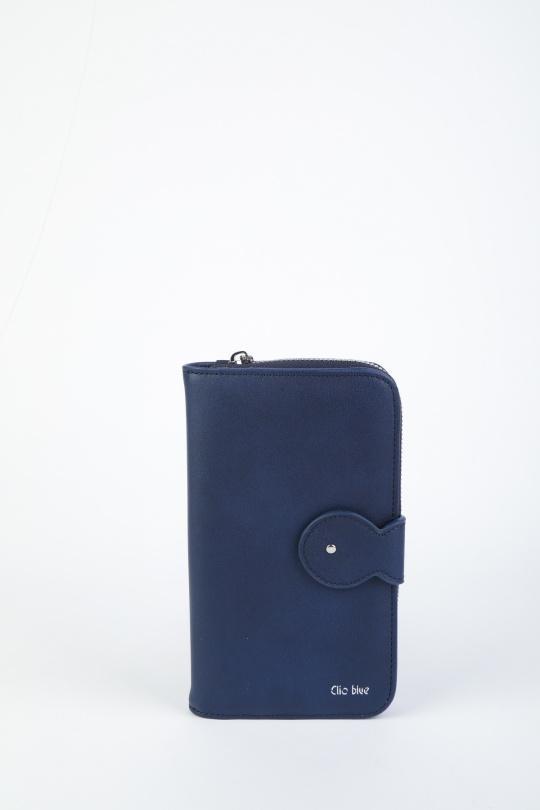 1f7c08c6e Monederos & estuches Marroquinería Navy blue Première Collection CB0048 #c  eFashion Paris