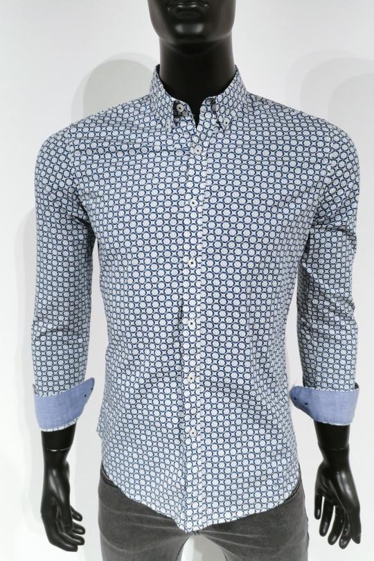 Chemises Homme Blanc MTX Z227 eFashion Paris
