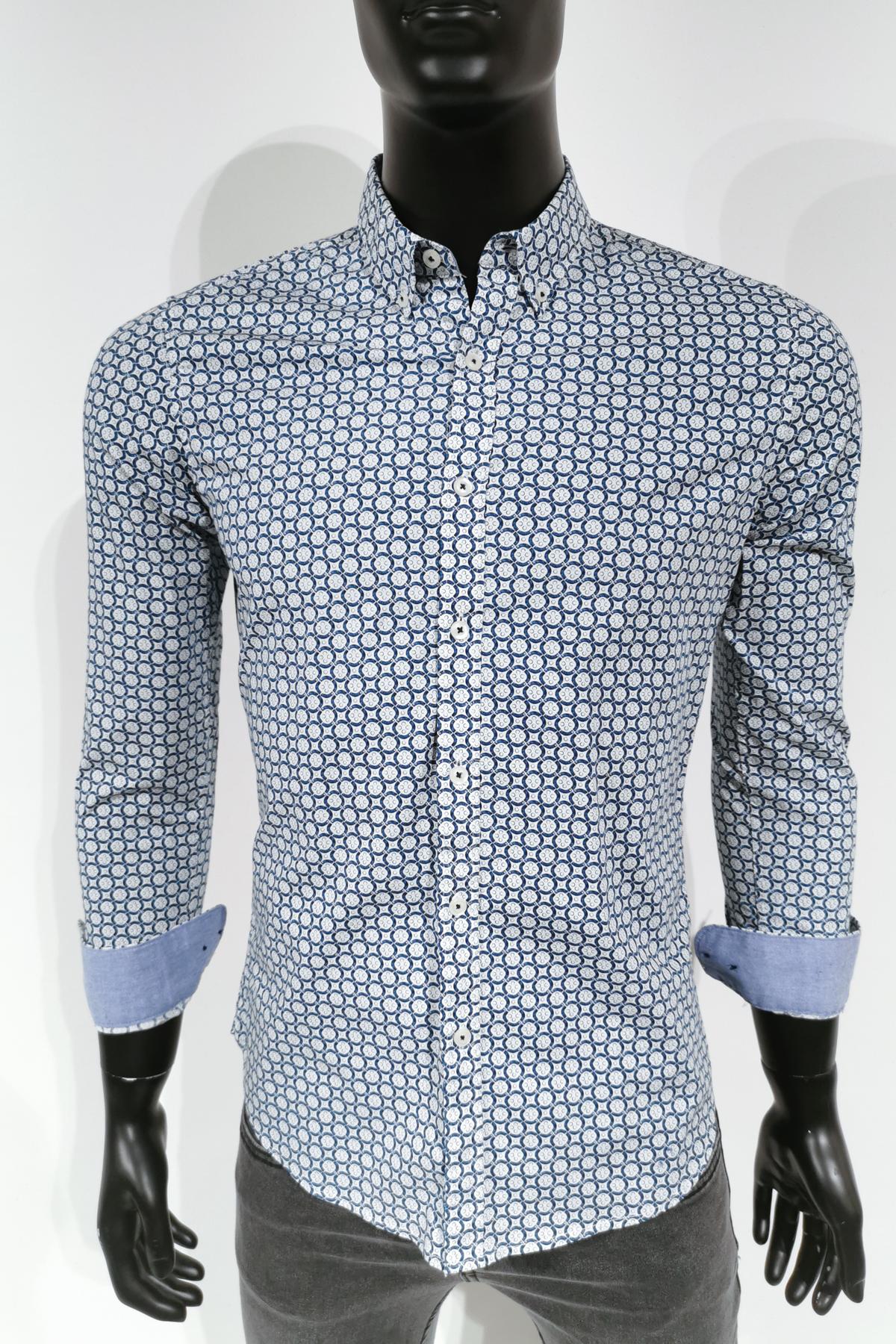 Chemises Homme Blanc MTX Z227 #c eFashion Paris