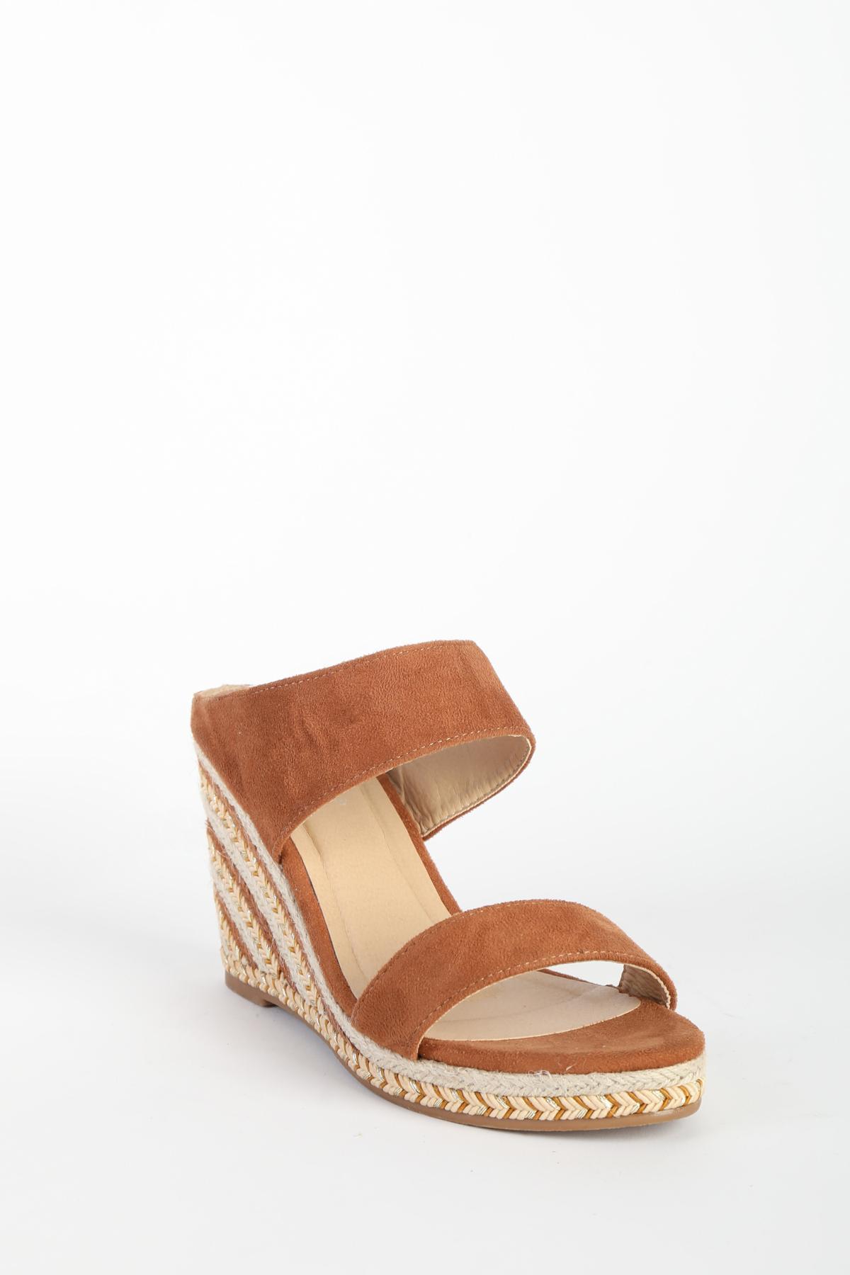Compensées Chaussures Camel EMELLA HM652 #c eFashion Paris
