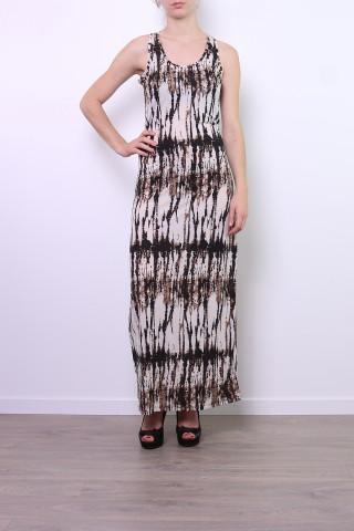 Robes longues Femme Brun LILIEROSE DX2543 eFashion Paris