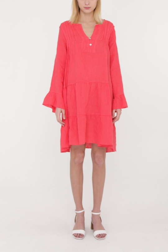 Robes mi-longues Femme Corail Happy Look 71027 eFashion Paris