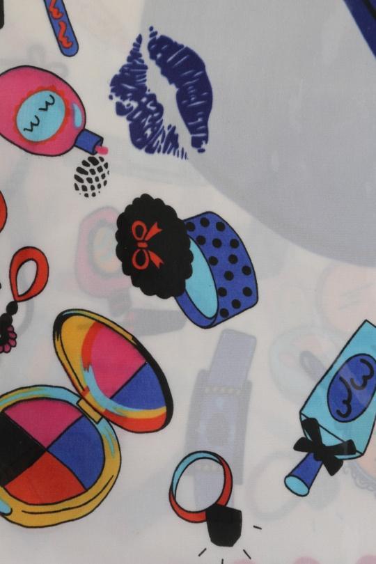 Foulards Accessoires Bleu KATHY WY-180 eFashion Paris