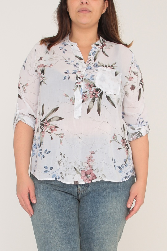 Chemises Femme Blanc Miss Vivi - Belle & Coeur  8850 eFashion Paris