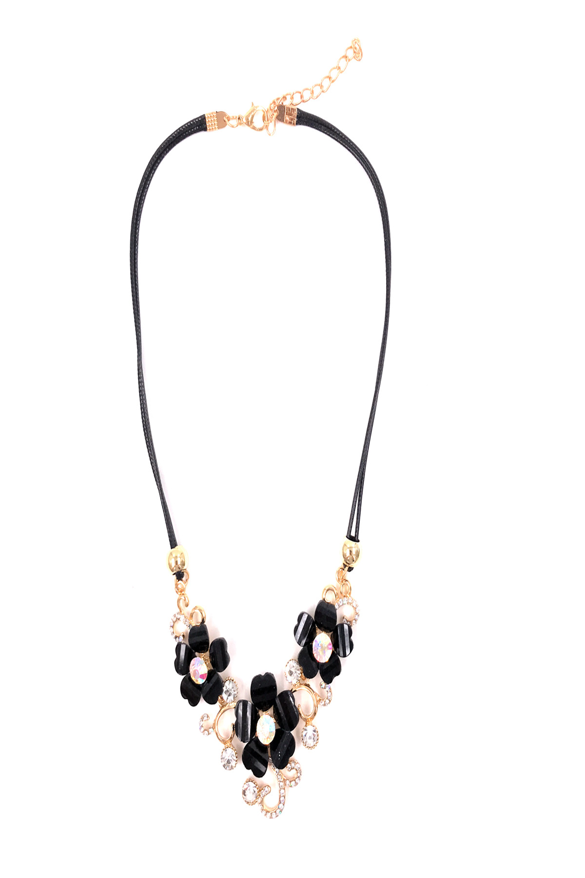 Colliers Accessoires Noir BELLISSIMA 97COL02 #c eFashion Paris