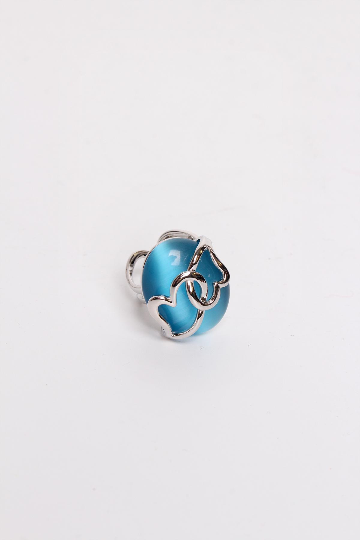 Bagues Accessoires Bleu BELLISSIMA 60BG02 #c eFashion Paris