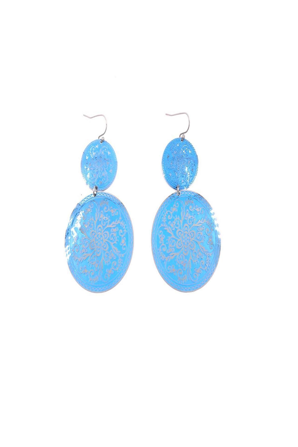 Boucles d'oreilles Accessoires 44BO14-BLEU BELLISSIMA