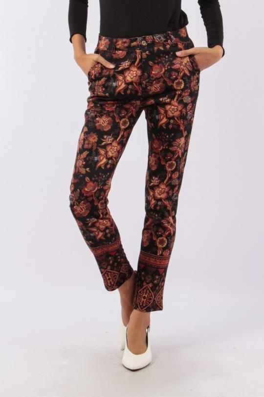 Pantalones Mujer Multicolor 101 Idees R2088  c eFashion Paris ca700d4fc8a4