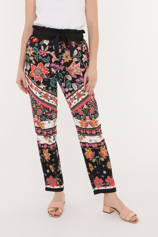 268702591c Pantalones Mujer Multicolor 101 Idees R7002  c eFashion Paris