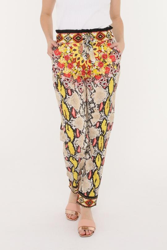 93b1d1037c Pantalones Mujer Multicolor 101 Idees R7003  c eFashion Paris