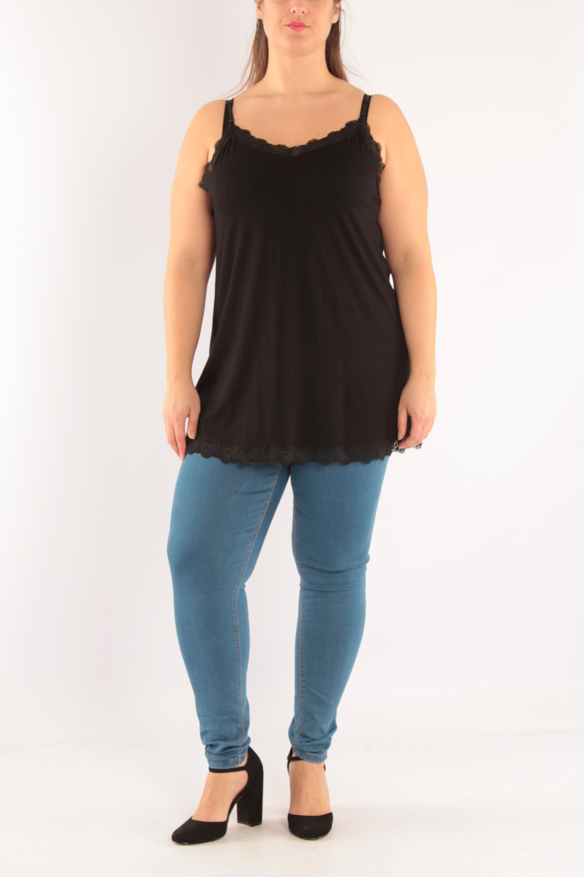Tops Femme Noir 2W Paris D3290 #c eFashion Paris