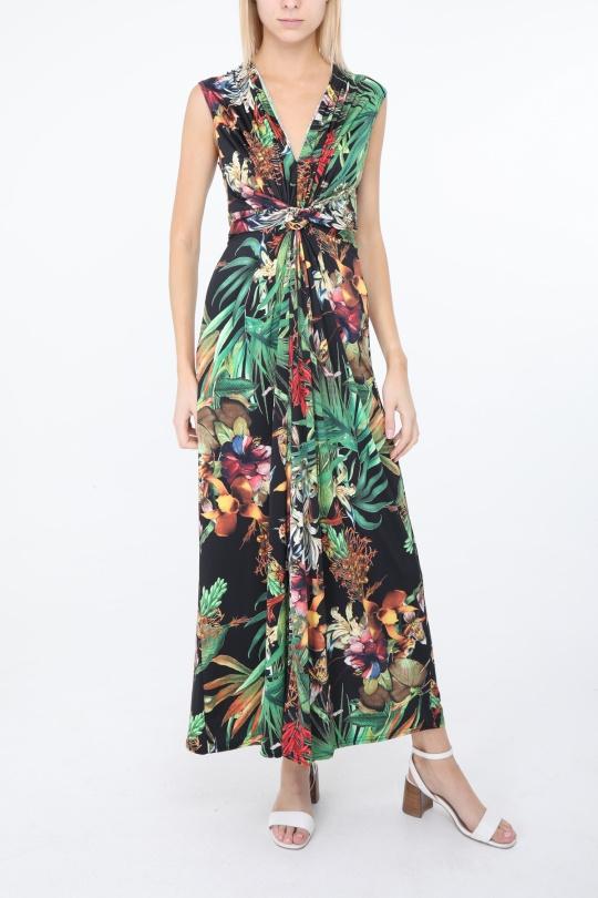 Robes longues Femme Noir lucky2 R93 eFashion Paris