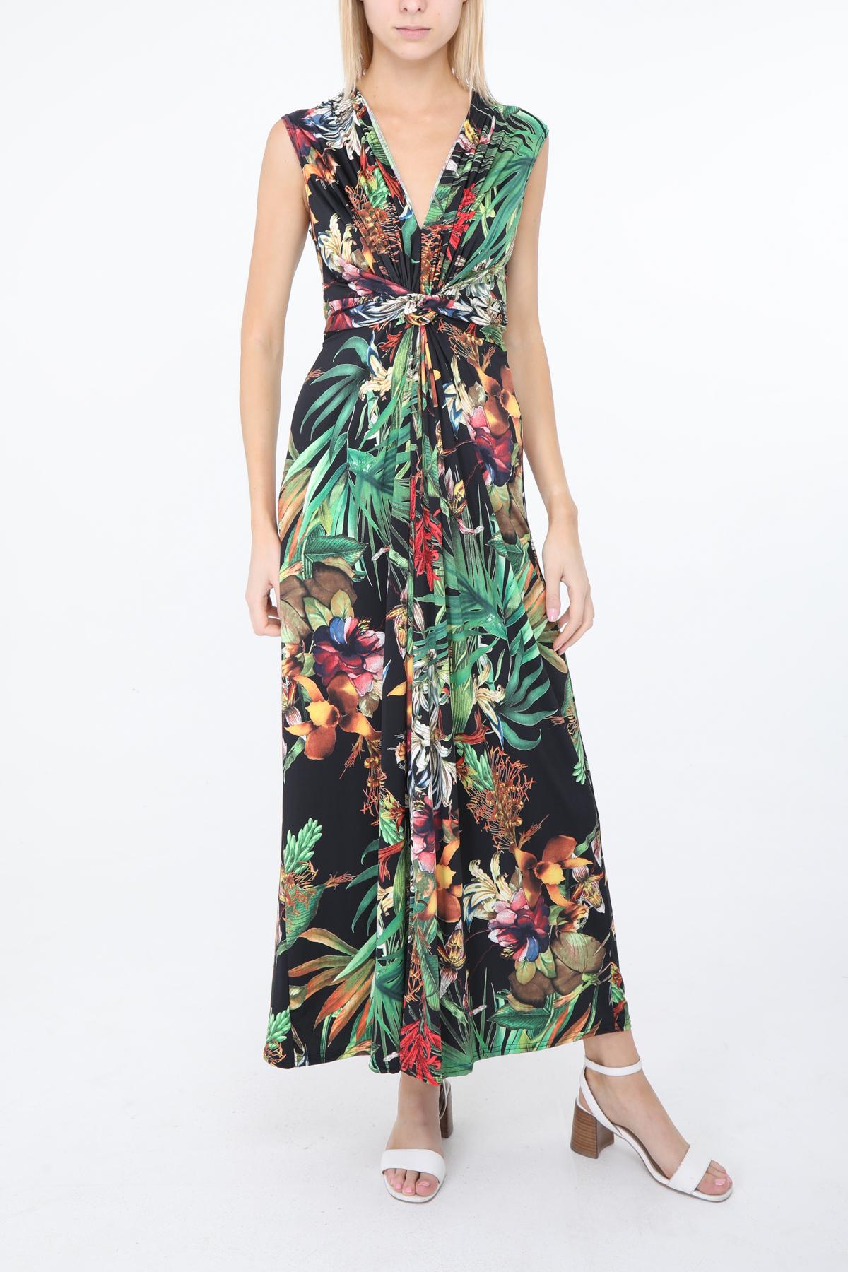 Robes longues Femme Noir lucky2 R93 #c eFashion Paris