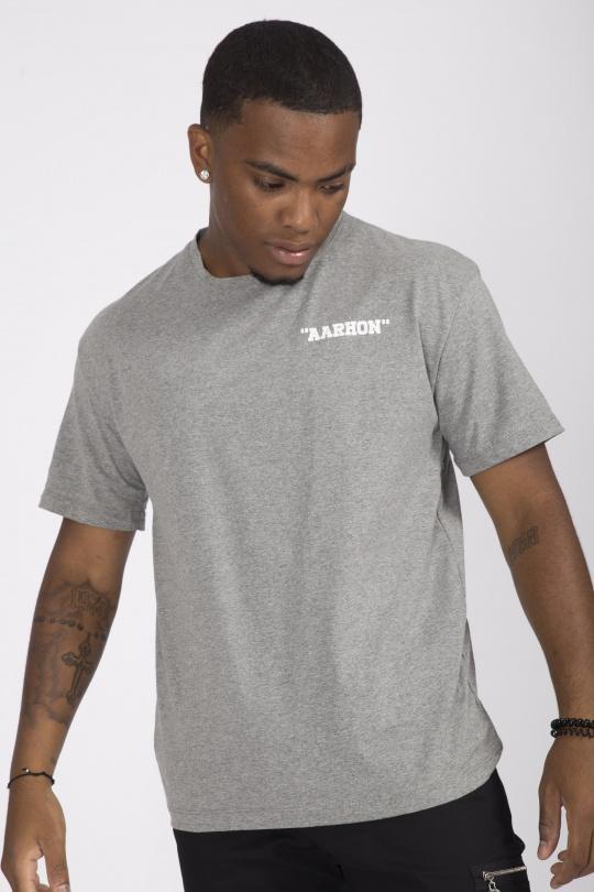 T-shirts Homme Gris AARHON 4-8006 eFashion Paris