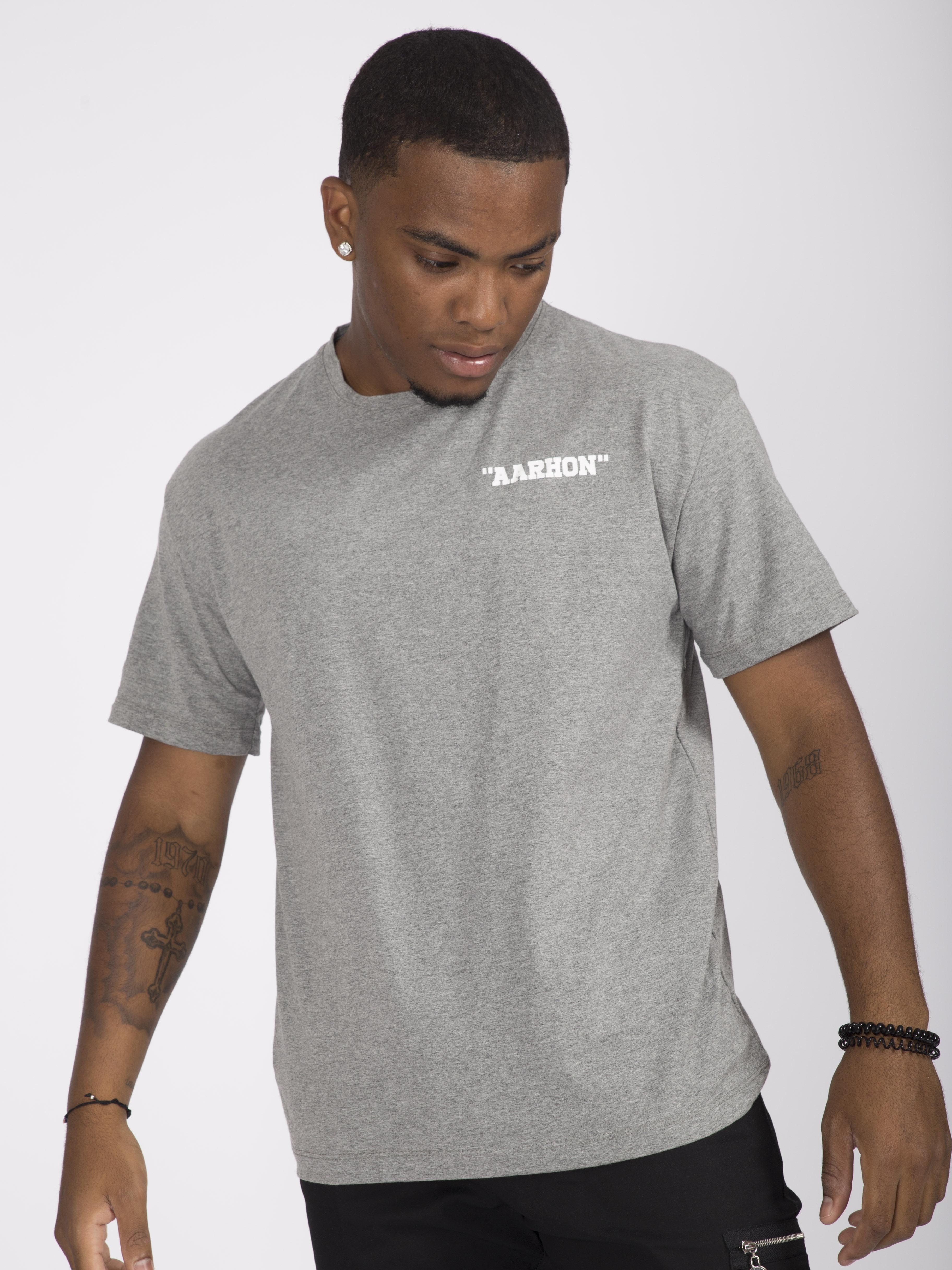T-shirts Homme Gris AARHON 4-8006 #c eFashion Paris