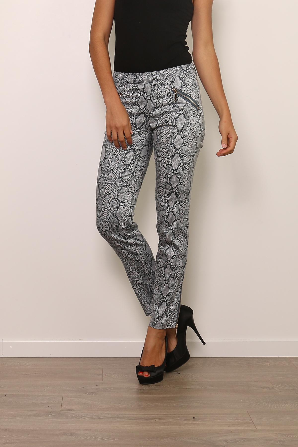 Pantalons Femme Bleu Lucy & Co Paris 11 L90049 #c eFashion Paris