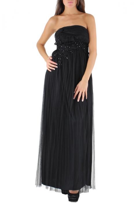 Robes longues Femme Noir Lucy & Co Paris 11 88208 #c eFashion Paris