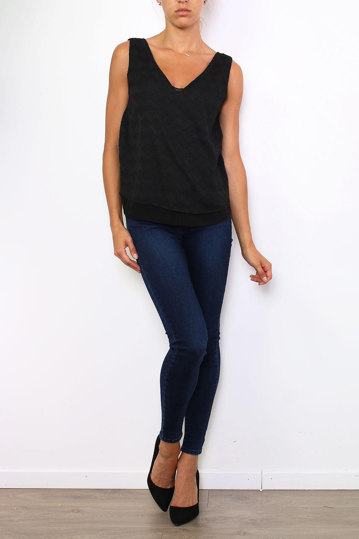 Tops Femme 96351-NOIR Lucy & Co Paris 11