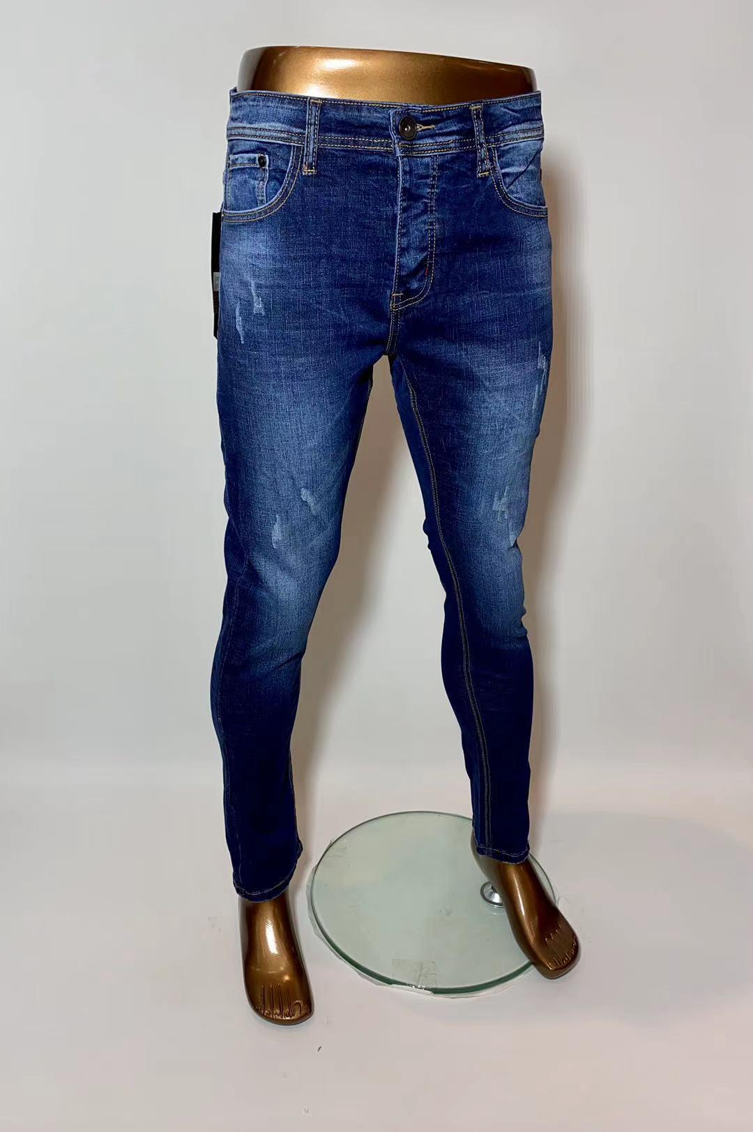 Jeans Homme Bleu jean OMNIMEN K803 #c eFashion Paris