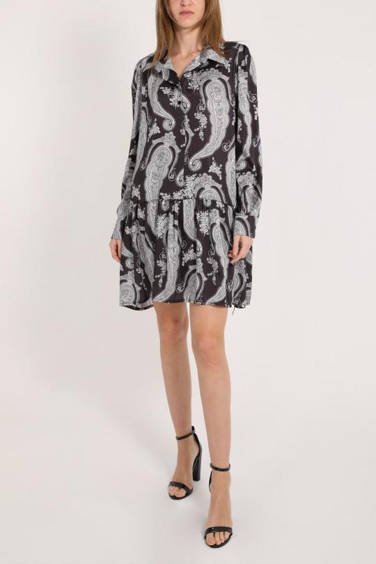 Robes courtes Femme Noir L'EMOTION 1205574 eFashion Paris