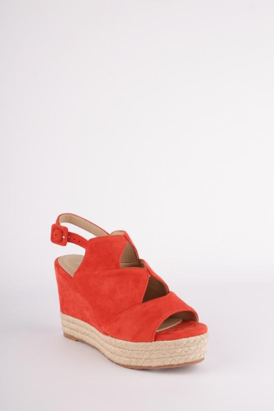 c7ac5497a4fa42 Compensées Chaussures Orange H2P Diffusion - POTI PATI SE373 #c eFashion  Paris