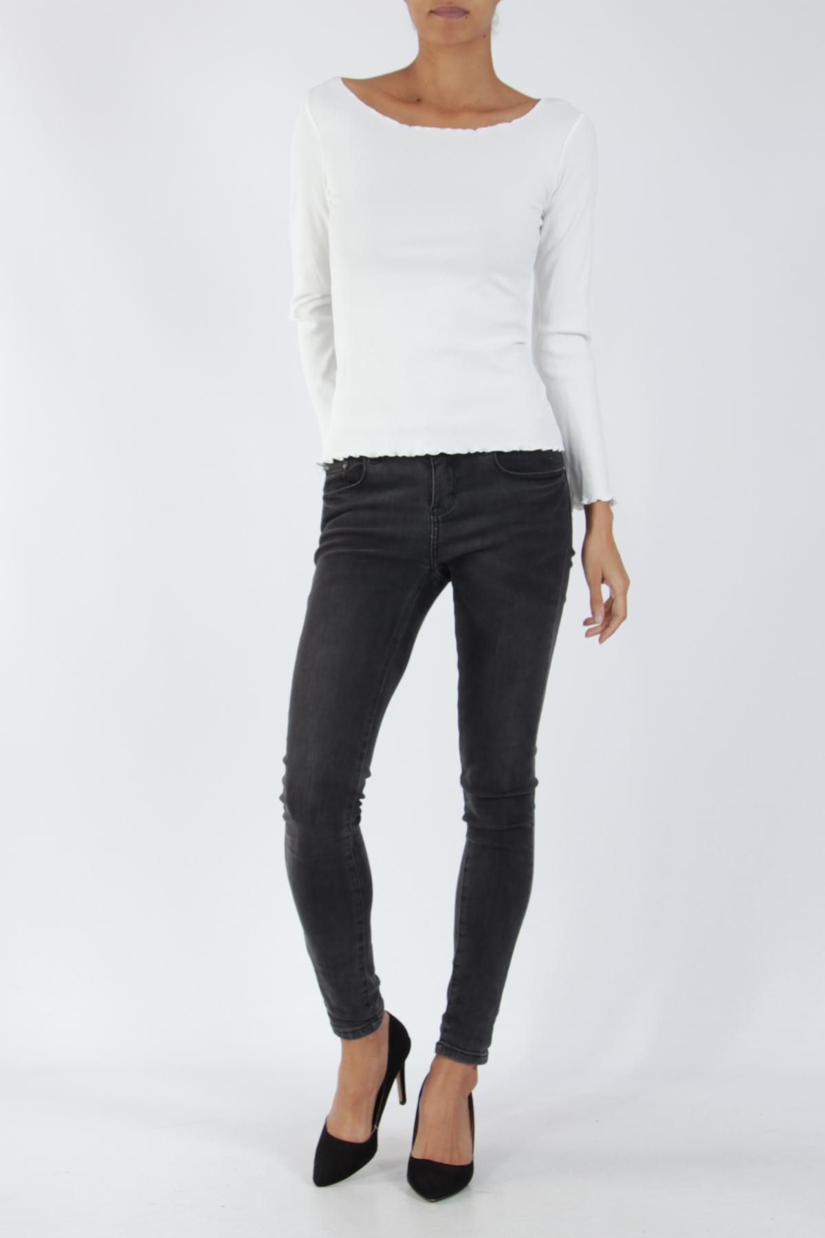 Tops Femme Blanc ELLE STYLE 80800 #c eFashion Paris