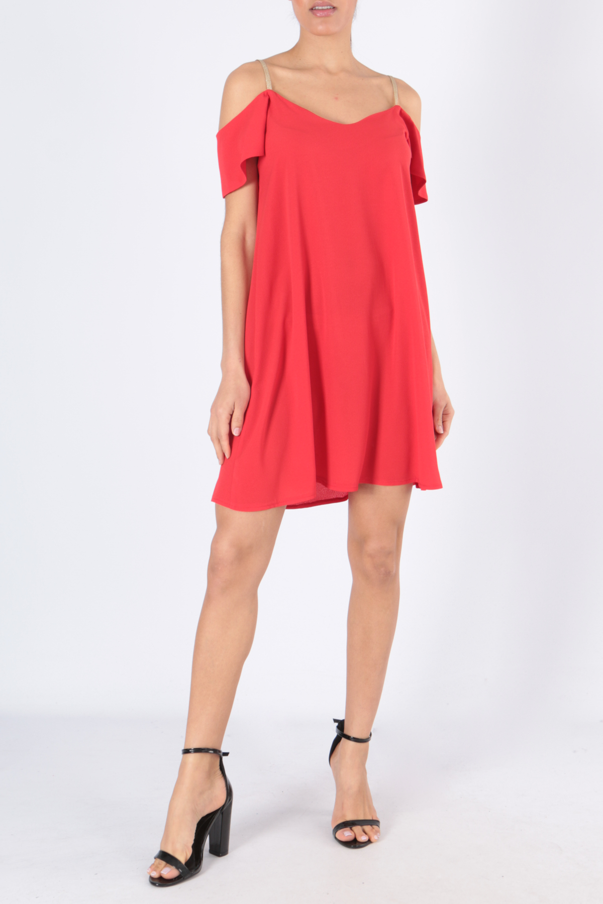 Robes courtes Femme ROBE BOA-ROUGE Charming Girl By Silia