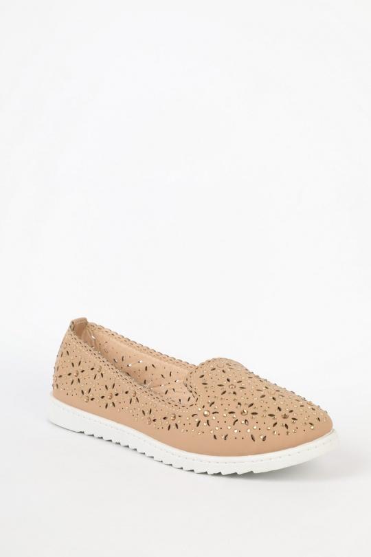 Ballerines Chaussures Beige VIESTAR VS22 eFashion Paris