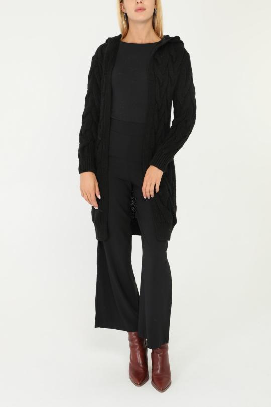 Gilets Femme Noir BELLE COPINE 3091 eFashion Paris