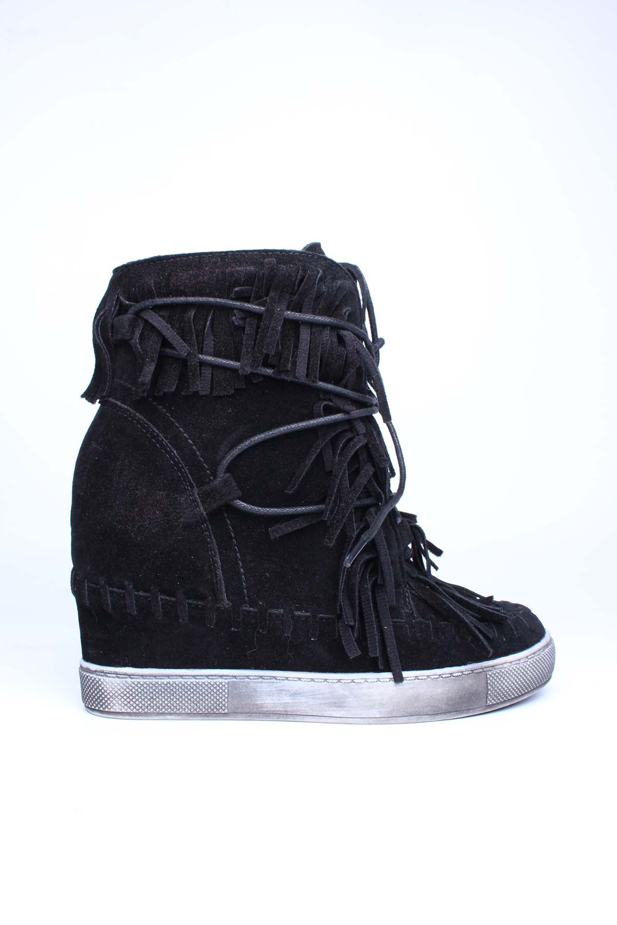 Baskets Chaussures Noir Girlhood L08-10 #c eFashion Paris
