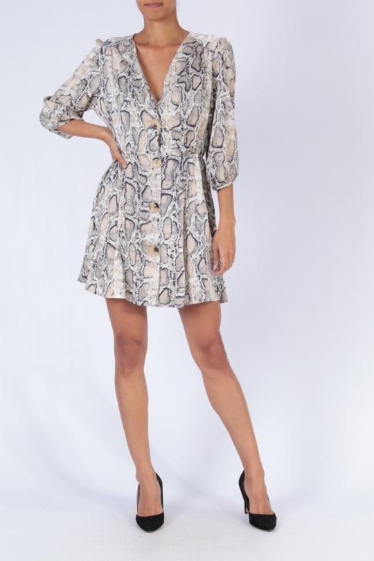 Robes courtes Femme Couleurs mélangées Bigliuli D9000 eFashion Paris
