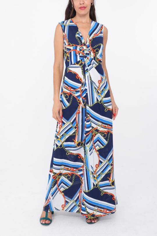 ff483b7381 Robes longues Femme Couleurs mélangées Bigliuli D9166 #c eFashion Paris