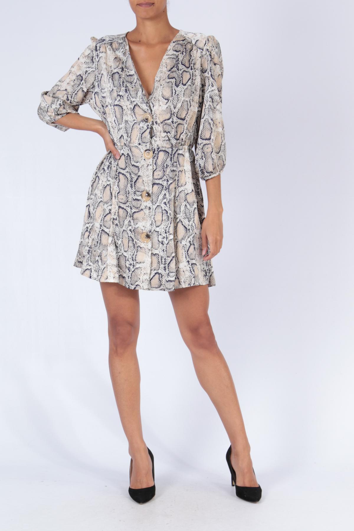 Robes courtes Femme Couleurs mélangées Bigliuli D9000 #c eFashion Paris