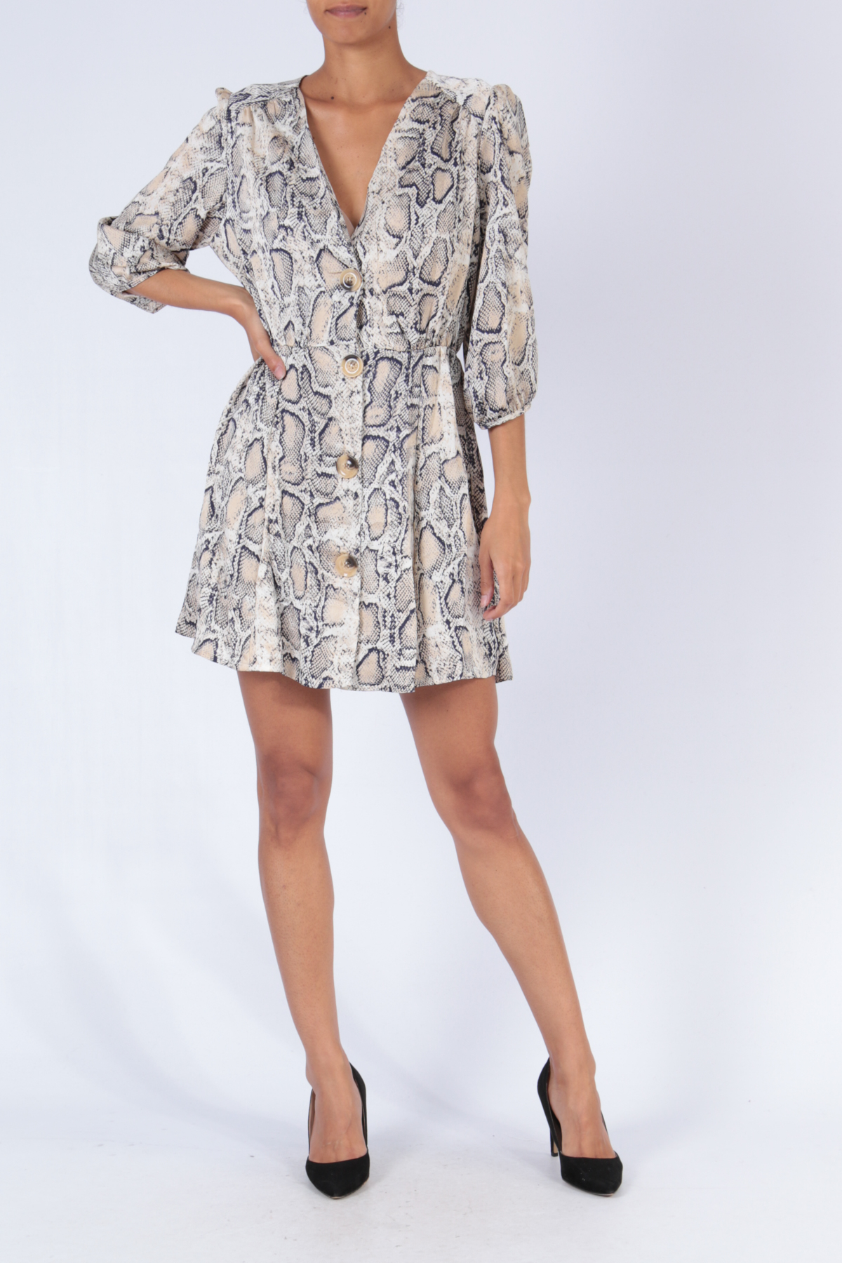 Robes courtes Femme D9000 Bigliuli