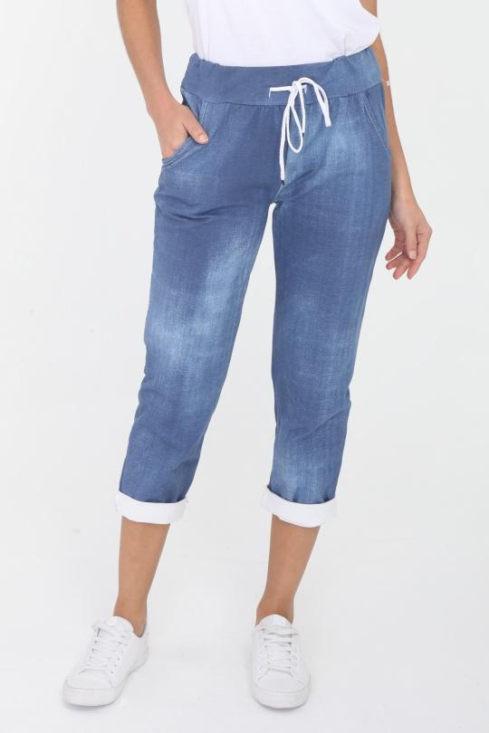 Pantalons Femme Bleu marine CBELLE PT08 eFashion Paris