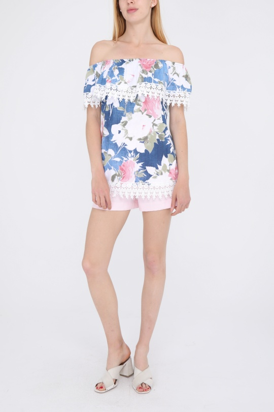 Tops Femme Blanc CBELLE TP12 eFashion Paris