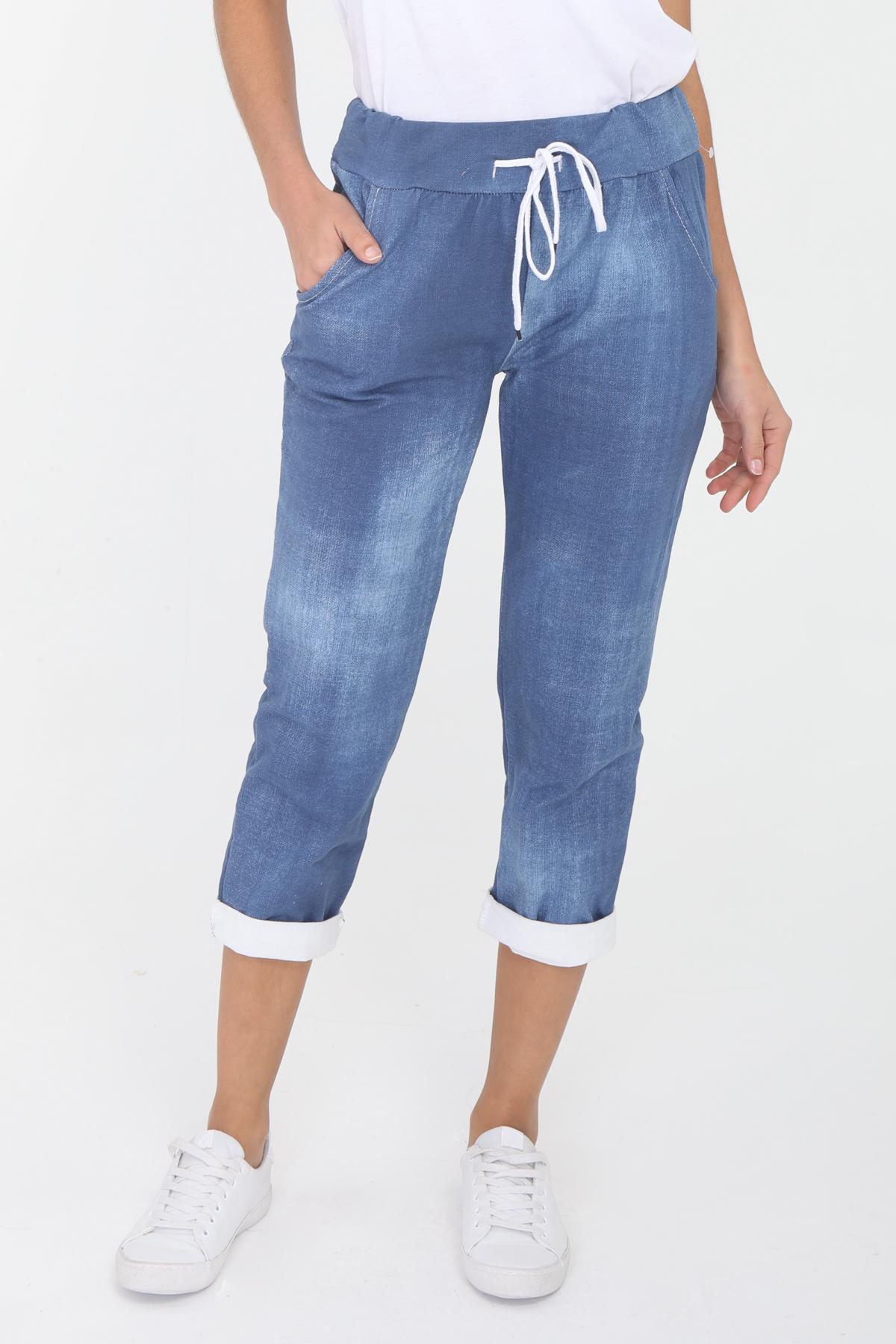 Pantalons Femme Bleu marine CBELLE PT08 #c eFashion Paris