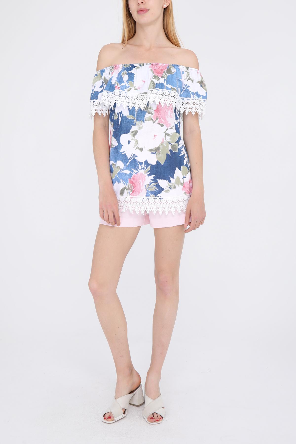 Tops Femme Blanc CBELLE TP12 #c eFashion Paris