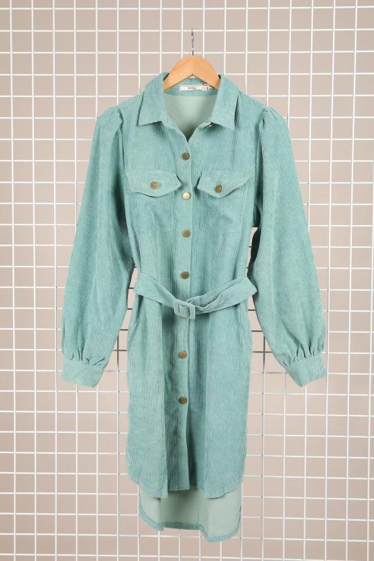 Robes courtes Femme Céladon Unigirl X-1877 eFashion Paris