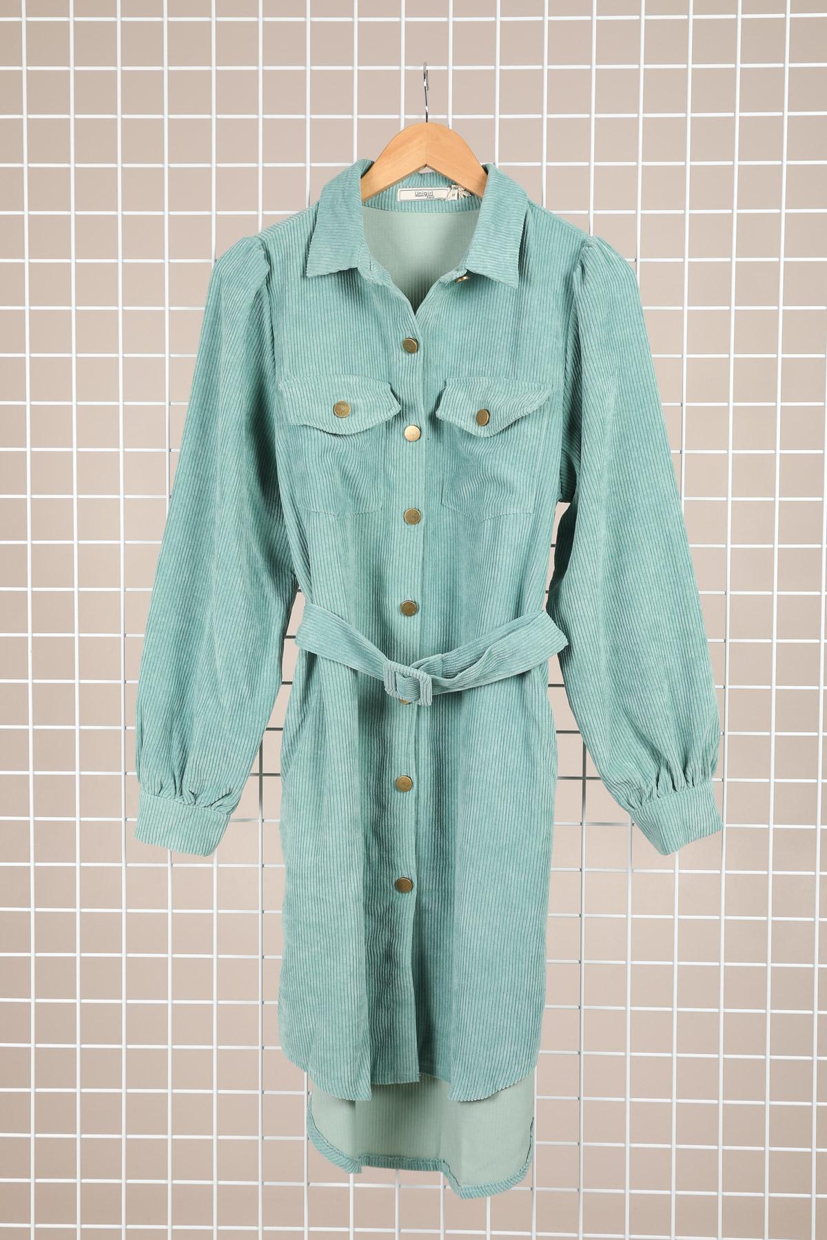 Robes courtes Femme Céladon Unigirl X-1877 #c eFashion Paris