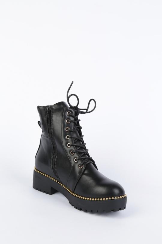Bottines Chaussures Noir WILEDI 2018-9 eFashion Paris